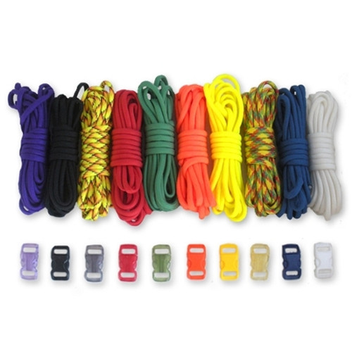 Colors - Combo Kit (Paracord & Buckles)