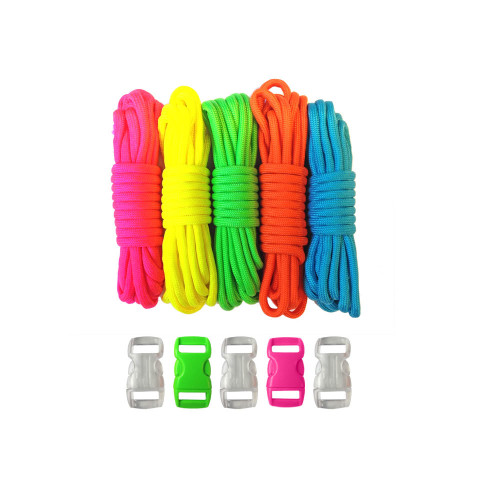 Neon - Combo Kit (Paracord & Buckles)