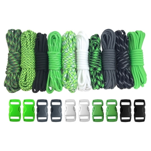 Keep Calm - Combo Kit (Paracord & Buckles)