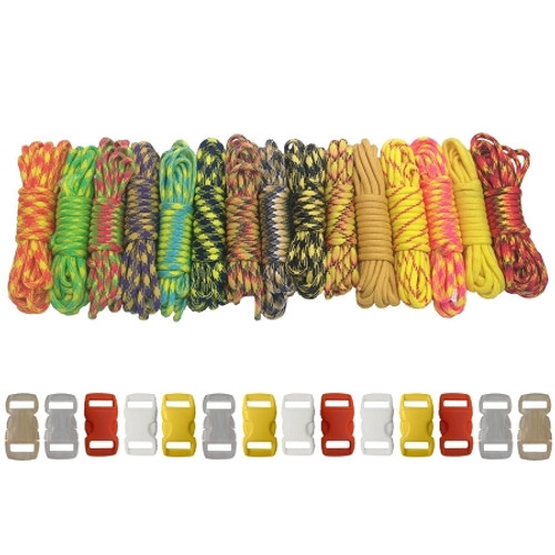 Big Yellow - Combo Kit (Paracord & Buckles)