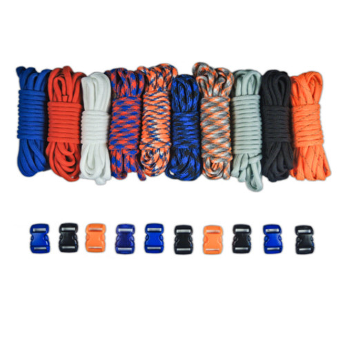 Mets Colors Combo Kit - Paracord & Buckles
