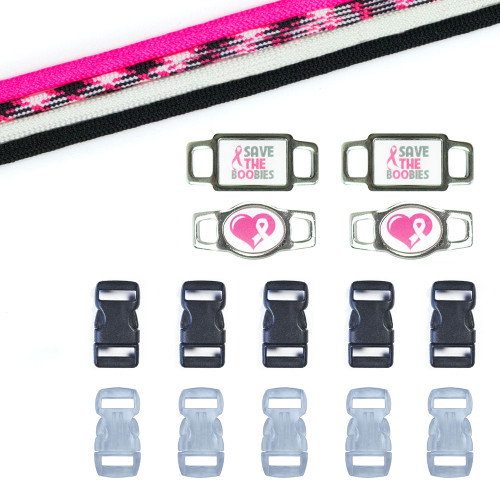 Breast Cancer Awareness Paracord Crafting Kit #8
