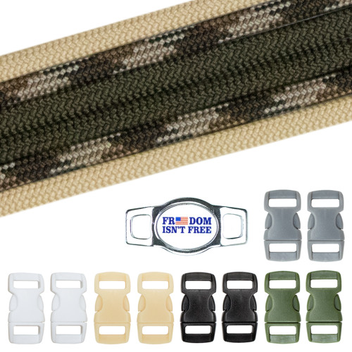 Military & Veterans Paracord Crafting Kit #2