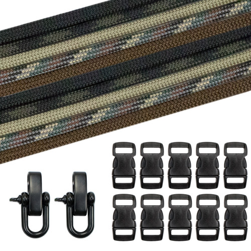 Military & Veterans Paracord Crafting Kit #3