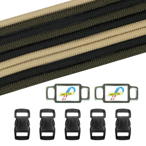 Military & Veterans Paracord Crafting Kit #4