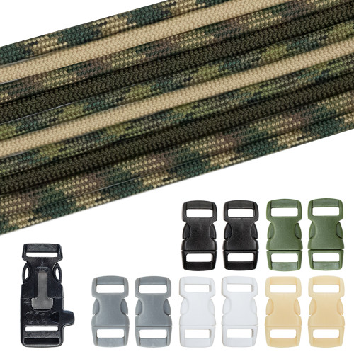 Military & Veterans Paracord Crafting Kit #5