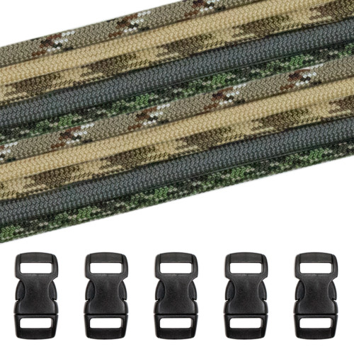 Military & Veterans Paracord Crafting Kit #7