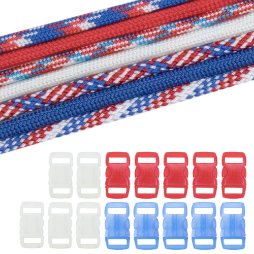 Military & Veterans Paracord Crafting Kit #10