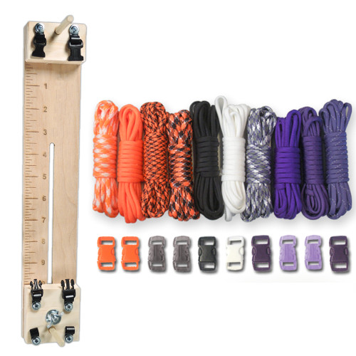 """Paracord Crafting Kit - 10"""" Pocket Pro Jig - Witch"""