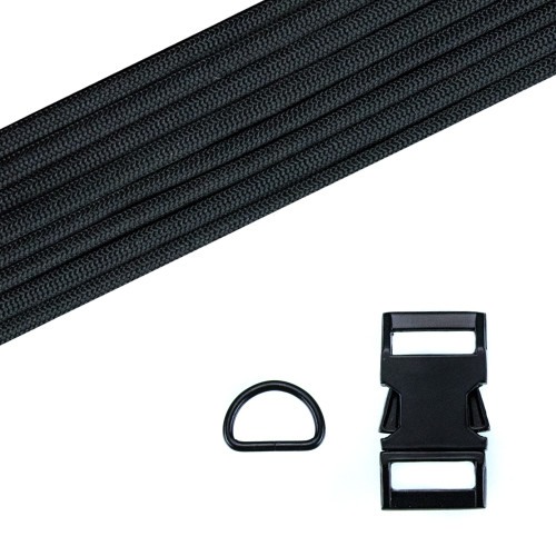Dog Collar Kit - Black