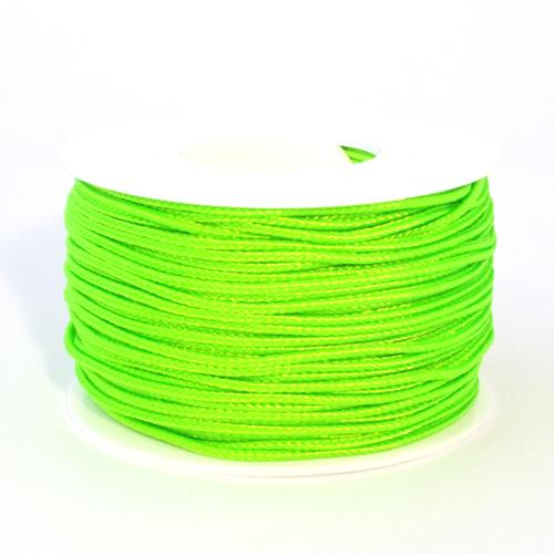 Neon Green Micro Cord - 125 Feet
