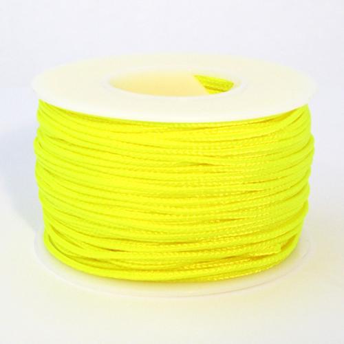 Neon Yellow Micro Cord - 125 Feet