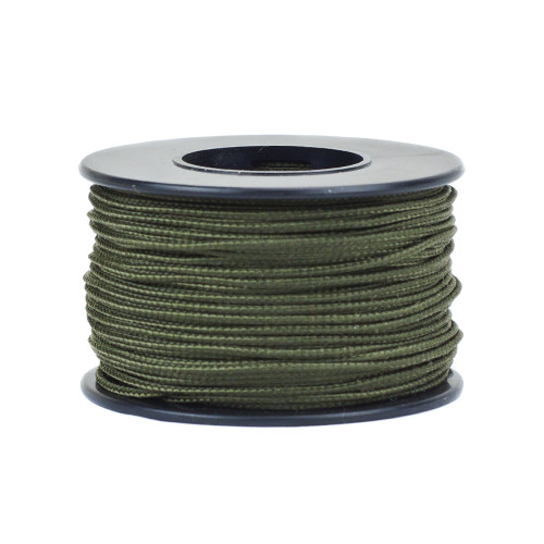 Olive Drab Micro Cord - 125 Feet