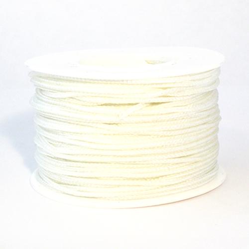 White Micro Cord - 125 Feet
