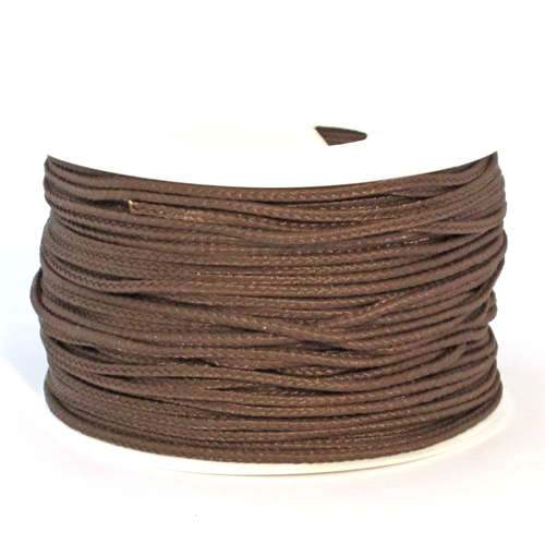 Brown Micro Cord - 125 Feet