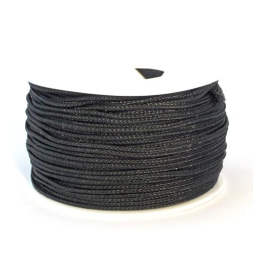 Black  Nano Cord - 300 Feet