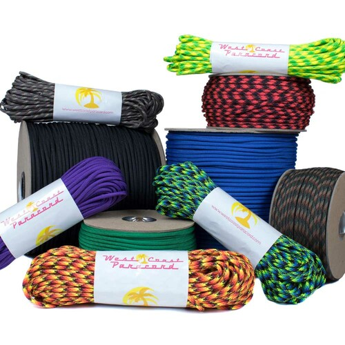 Top Colors - 550 Paracord