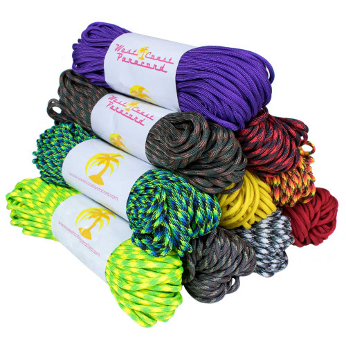 Top 250 Colors - 550 Paracord