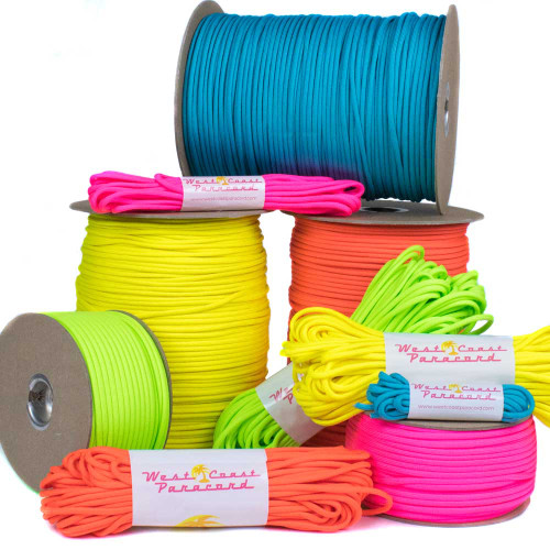 Neon Colors - 550 Paracord