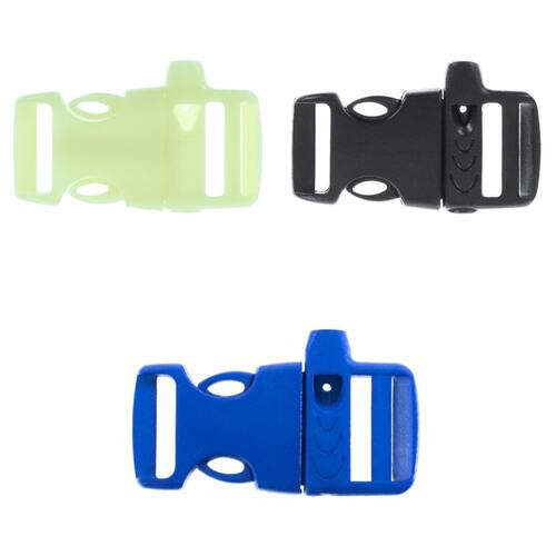 3/4 Inch Side Release Whistle Buckles