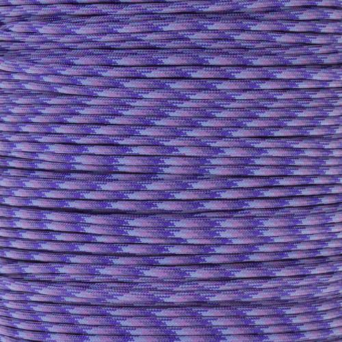 Purple Blend - 550 Paracord - 100 Feet