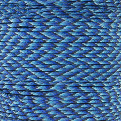 Blue Blend - 550 Paracord - 100 Feet
