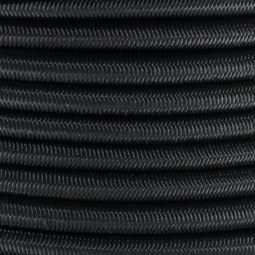 3/8in Shock Cord - Black