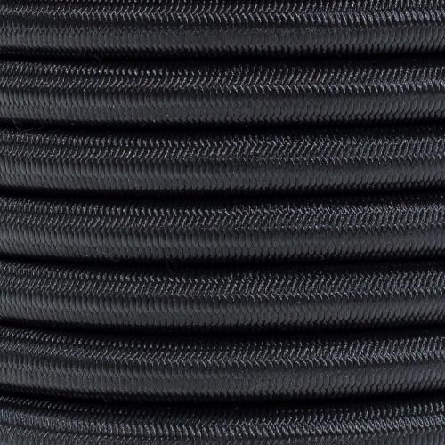 1/2in Shock Cord - Black