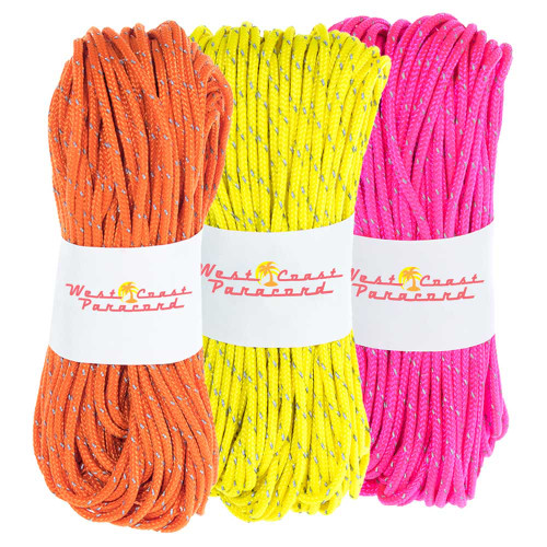 3 Pack 95 Reflective Cord - 20M each