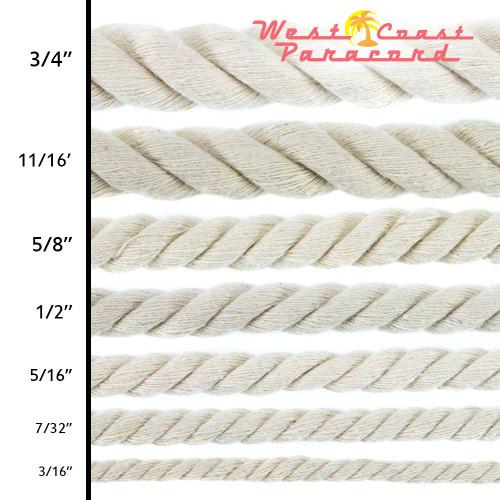 Original Cotton Rope - Multiple Sizes