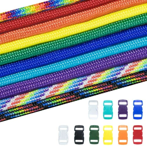 ROYGBIV - Combo Kit (Paracord & Buckles)