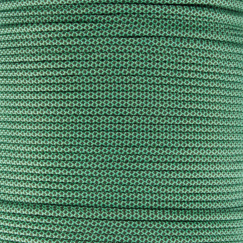 Mint w/ Olive Drab Diamonds - 550 Paracord
