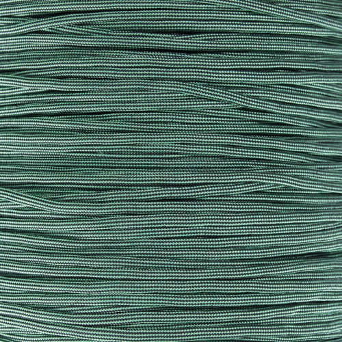 Mint and Black Stripes - 550 Paracord - 100ft