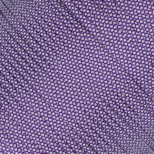 Acid Purple w/ Cream Diamonds  - 550 Paracord - 100ft