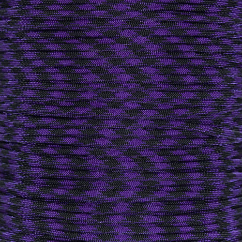 Barney Goes Brite Goth  - 550 Paracord - 100ft