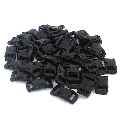 "Black 3/8"" Buckles - 60 Pack"
