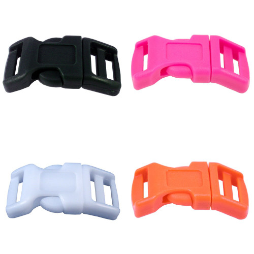 Contoured Double-Bar Buckle - 1/2 Inch