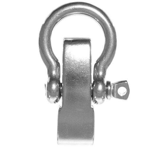 Stainless Steel Adjustable 4 Hole Bow Shackle - 2.5