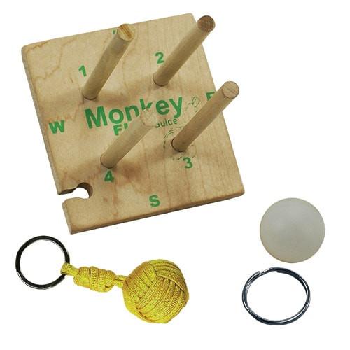Pepperell Wooden Monkey Maker Kit