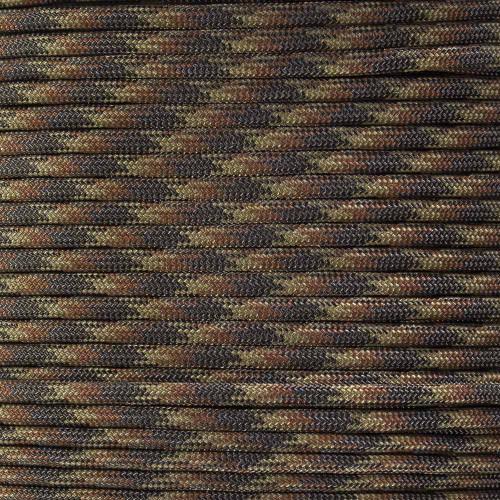 Brown Blend - 550 Paracord - 100 Feet