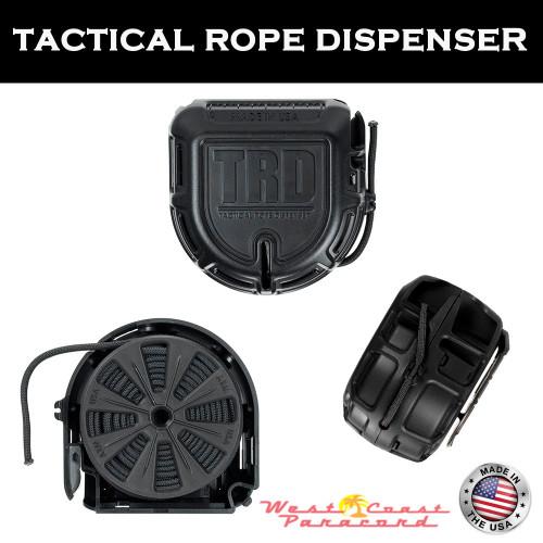 Tactical Rope Dispenser - Black