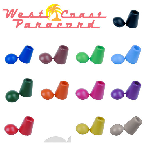 Bell Stopper End Lock - Multiple Colors