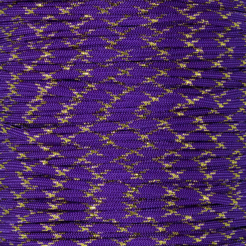 Acid Purple with Gold Metallic X - 550 Paracord