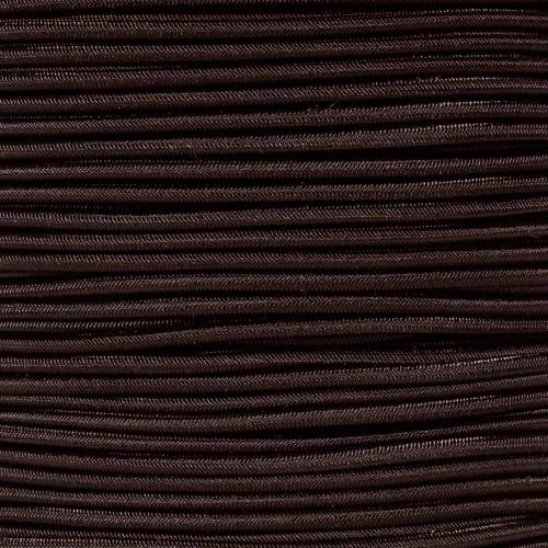 Dark Brown - 1/8 inch Shock Cord