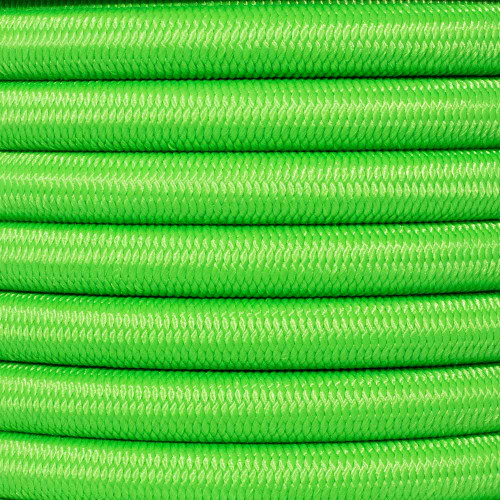 1/2 inch Shock Cord - Neon Green