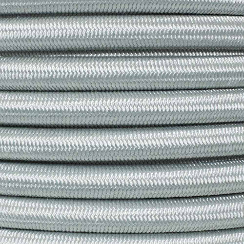 1/2 inch Shock Cord - Silver Gray