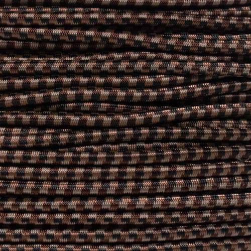 Brown Camo - 3/16 inch Shock Cord