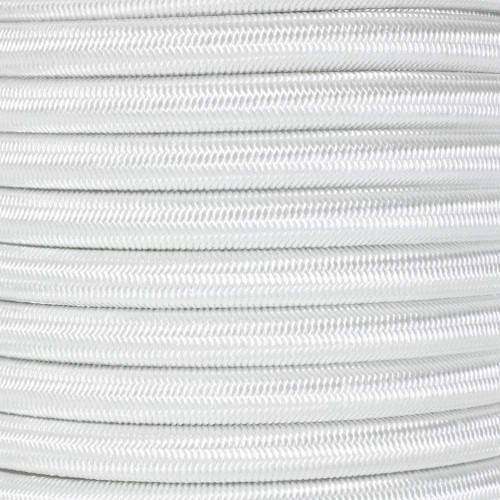 White - 3/8 inch Shock Cord