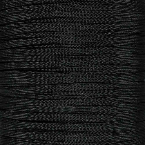 Black - 650 Coreless Paracord
