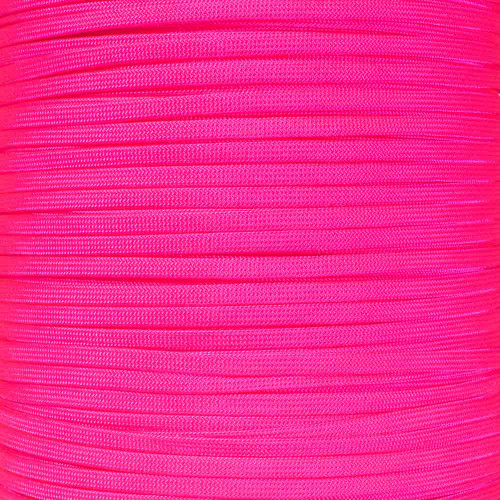 Neon Pink - 650 Coreless Paracord